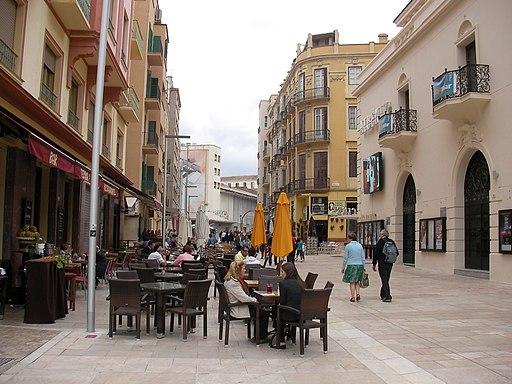Calle Alcazabilla Malaga
