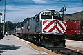 Caltrain 903 on the Coast Starlight at SLO, August 2004.jpg