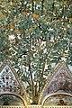 Camillo mantovano, volta della sala a fogliami di palazzo grimani, 1560-65 ca. 06 nocciolo.jpg