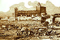 Campement de pèlerins aux Saintes en 1852 par J. B.jpg
