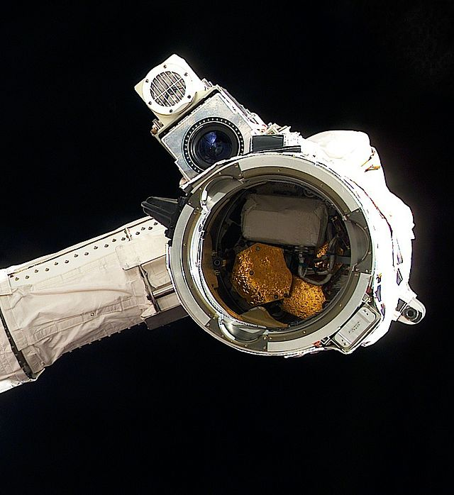 Canadarm End Effector on the International Space Station.