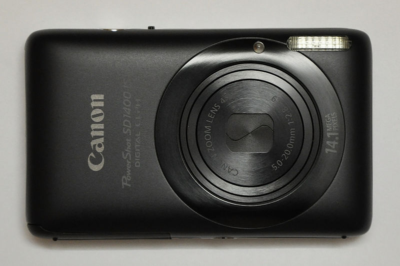 File:Canon PowerShot SD1400 IS.jpg