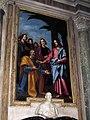 Cappella usimbardi, l'empoli, consegna delle chiavi, 1607, 02.JPG