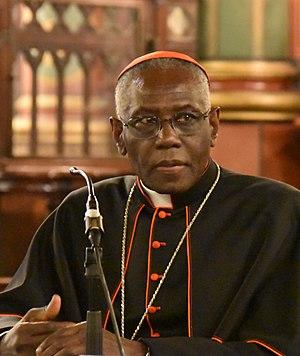 Congregation (Roman Curia) - Image: Cardinal Robert Sarah (cropped)