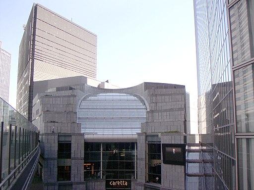 Caretta Shiodome and Shiodome Annex