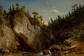 Carl August Sommer - Landscape with Figures on Mountain Rocks.jpg