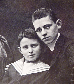 Eduard Zuckmayer - Carl (left) and Eduard Zuckmayer in 1906
