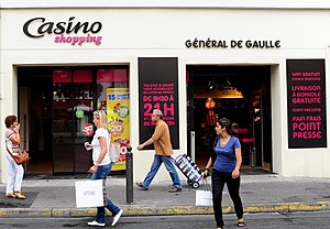 Groupe Casino - Image: Casino Shopping France