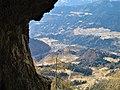 Castello Tesino dalla Caverna dei Pastori di Agaro.jpg