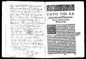 Ireland Shakespeare forgeries - Image: Castiglione p 2