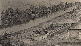 Cahaba Prison Confederate prison