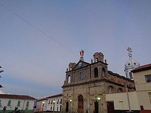 Soatá - Image: Catedral de Soatá (Simón Bolivar)