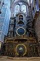 Cathédrale Notre-Dame - intérieur - horloge astronomique (Strasbourg).jpg
