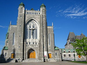 Saint-Michel Basilica-Cathedral - Image: Cathédrale Saint Michel Sherbrooke