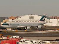 B-LJC - B748 - Cathay Pacific