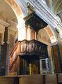 Cattedrale di Rieti, balconcino prediche.JPG