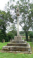 Caythorpe St Vincent - Cemetery cross from the north.jpg