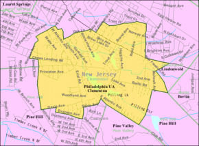 Census Bureau map of Clementon, New Jersey.png