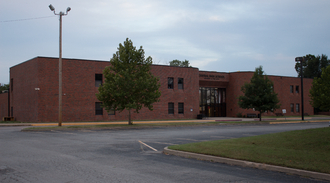 Central High School (Tulsa, Oklahoma) - Image: Central High School 05 Front Left 02