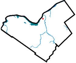 Location of Centretown West in Ottawa