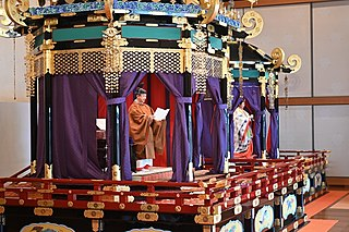 Enthronement ceremony