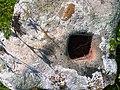 Cetatea de la Costesti - o piatra din cetate.jpg