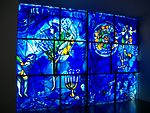 Chagall's America Windows Chicago Art Museum 1.JPG