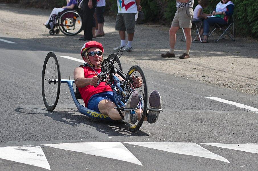 Championnat de France de cyclisme handisport - 20140614 - Course en ligne handbike