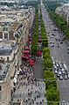 Champs-Élysées from the Arc de Triomphe, Paris 14 June 2015.jpg