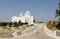 Chapel near Megalochori at the crater rim - Santorini - Greece - 02.jpg
