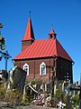 Chapel near the Church of the Assumption of the Blessed Virgin Mary in Novy Dvor - panoramio.jpg