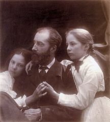 Charles Norman and his Daughters, Adeline and Margaret, by Julia Margaret Cameron.jpg