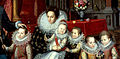 Charles d'Arenberg and Anne de Croy with family by F.Pourbus Jr. (c.1593, Arenbergkasteel) - detail 01.jpg