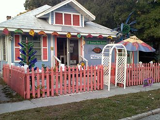 Bradenton, Florida - Some of the restored homes