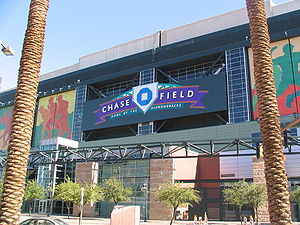 Chase Field, August 2006.