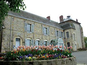 Château de Nangis - Front view - Hôtel de ville