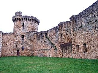 Château de la Madeleine - The tower of the guards