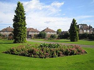 Cedars Park, Broxbourne - Image: Cheshunt, Cedars Park geograph.org.uk 552926