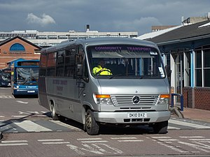 Mellor Coachcraft - A Mellor-bodied Mercedes-Benz Vario operated by Chesterfield Community Transport