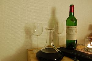Cabernet Franc - The Bordeaux wine Chateau Cheval Blanc from St-Emilion is predominantly Cabernet Franc.