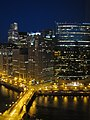 Chicago River from Mart Plaza - El río Chicago desde mercancía plaza - panoramio.jpg