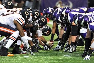 2012 Chicago Bears season - Chicago playing at the Minnesota Vikings on December 9, 2012