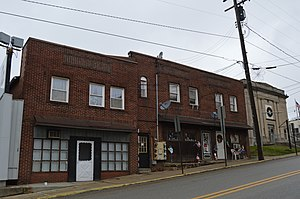 Chicora, Pennsylvania - Main Street commercial district