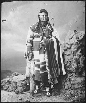Chief Joseph, Nez Perce - NARA - 523670