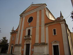 San Giorgio (Saint George), the parish church of Bergantino