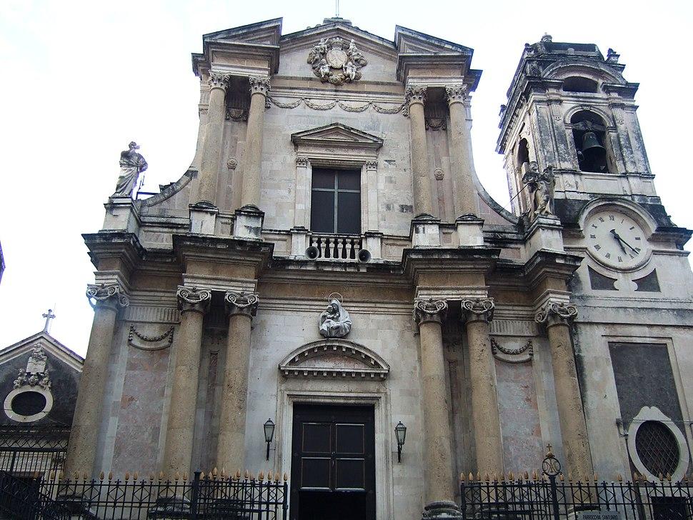Chiesa di Santa Maria dell'aiuto (Catania, XVIII sec.)