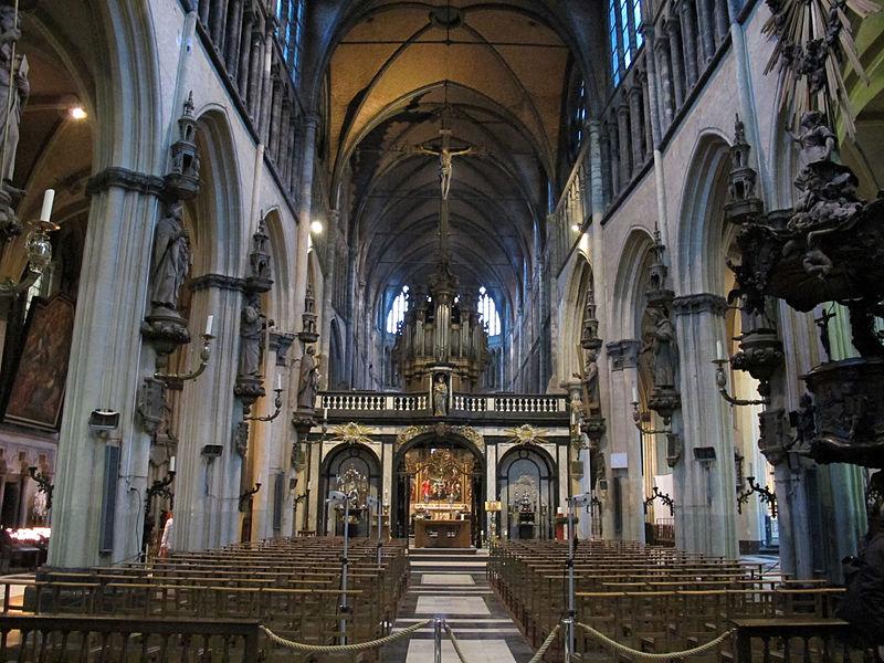 Chiesa di nostra signora, bruges, int. 01.JPG