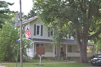 Warren G. Harding - Childhood home in Caledonia