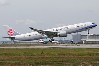 China Airlines - A China Airlines Airbus A330-300 at Kuala Lumpur International Airport in 2008.