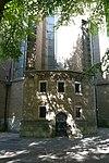 choir entrance and former librije, janskerk utrecht, janskerkhof